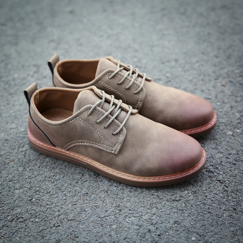 Leather Casual Shoes Oxford Shoes