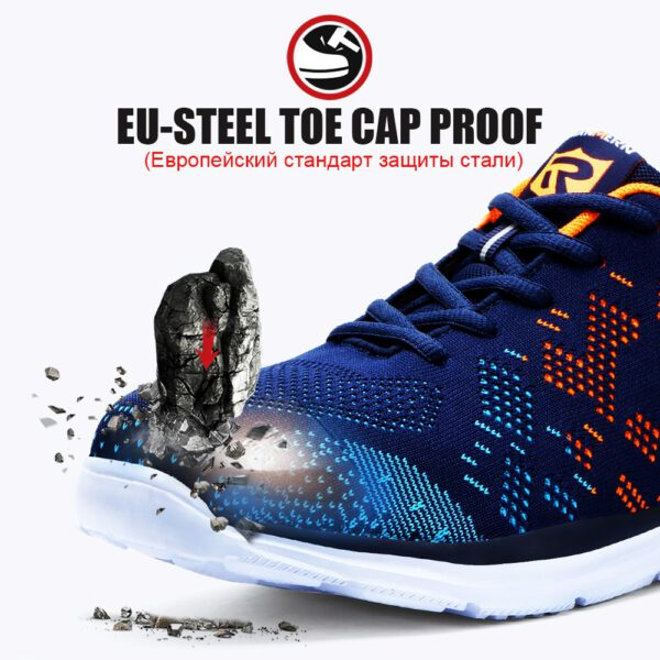 Breathable Men Safety Shoes