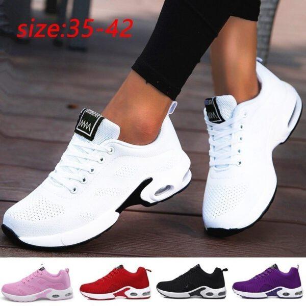 Casual Mesh Sneakers Women Flat