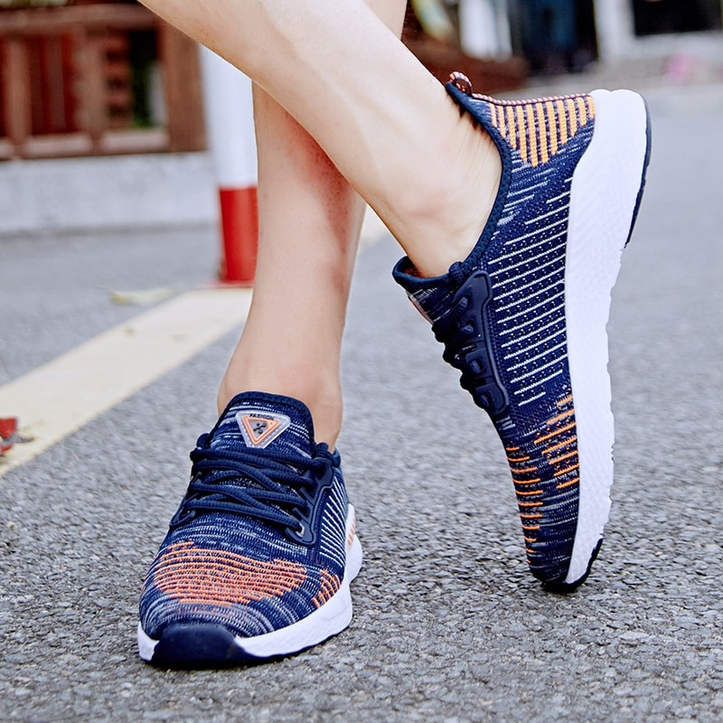 Casual Shoes Couple Walking Sneakers