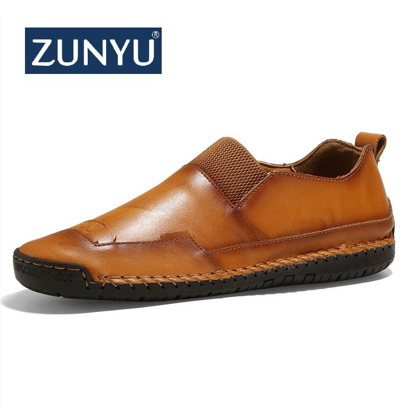Casual Shoes Leather Men's Loafers
