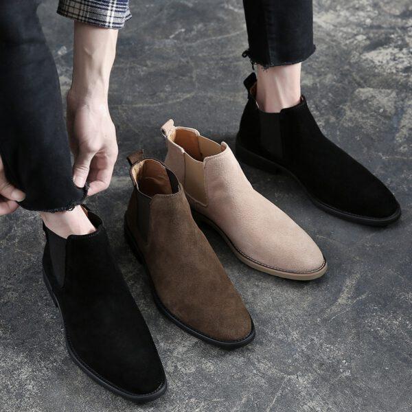 Chelsea Boots Men Ankle Boots