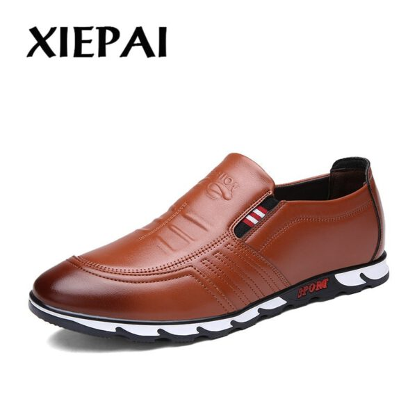 Fashion Leather Shoes Casual Shoes