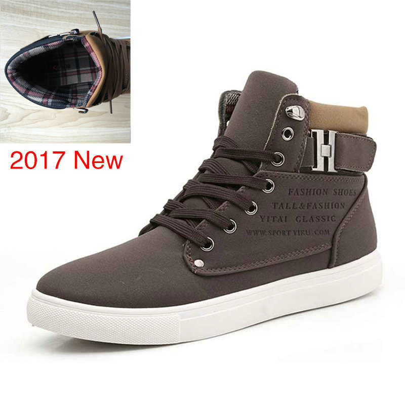Fashion Men Shoes Fur Winter Men Boots