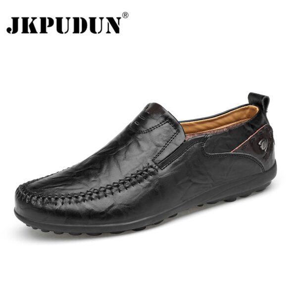 Genuine Leather Men Casual Shoes Men's Loafers