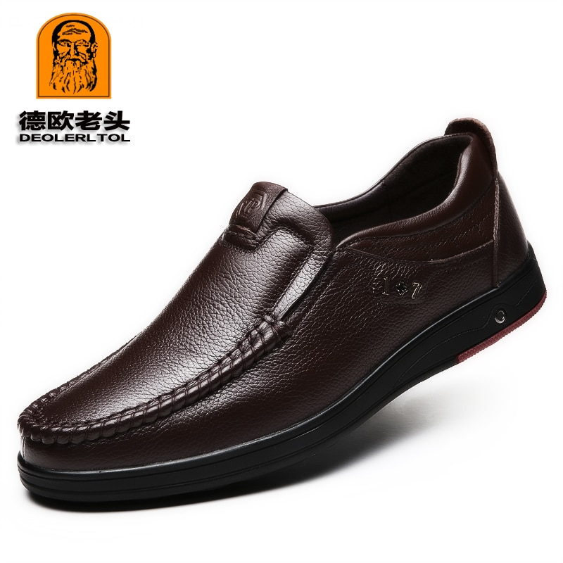 Genuine Leather Shoes Driving Shoes