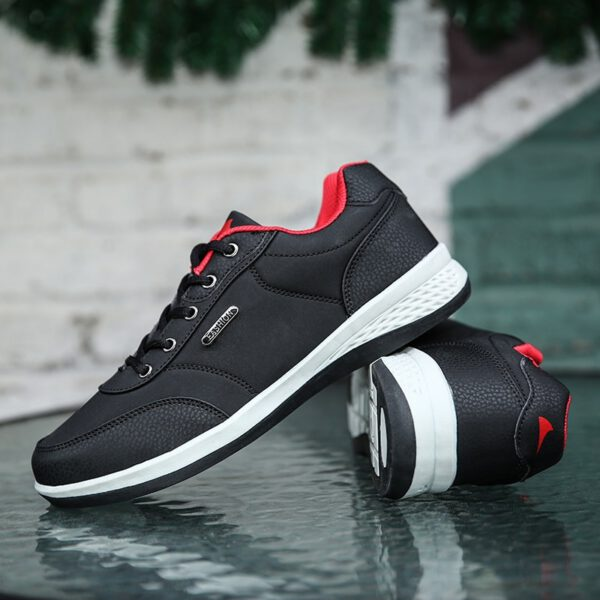 Leather Shoes England Casual Shoes