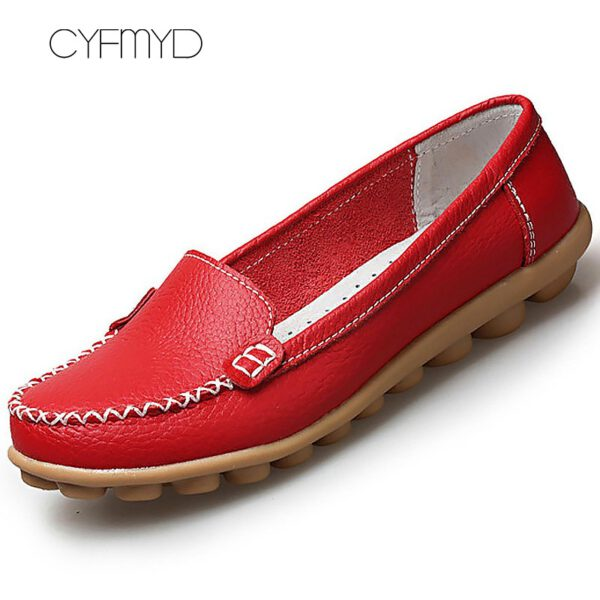 Leather Shoes Soft Boat Shoes