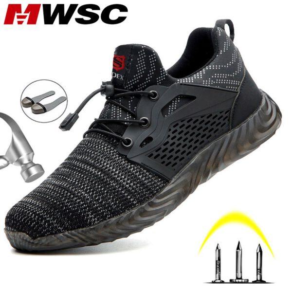 Light Weight Steel Toe Work Boots