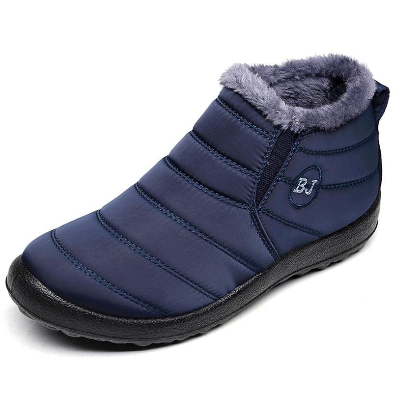 Men Boots Waterproof Winter Shoes