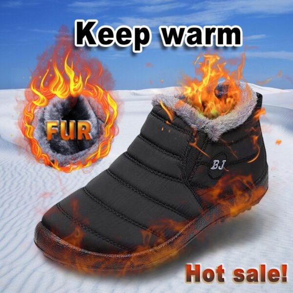 Men Boots Winter Men Shoes