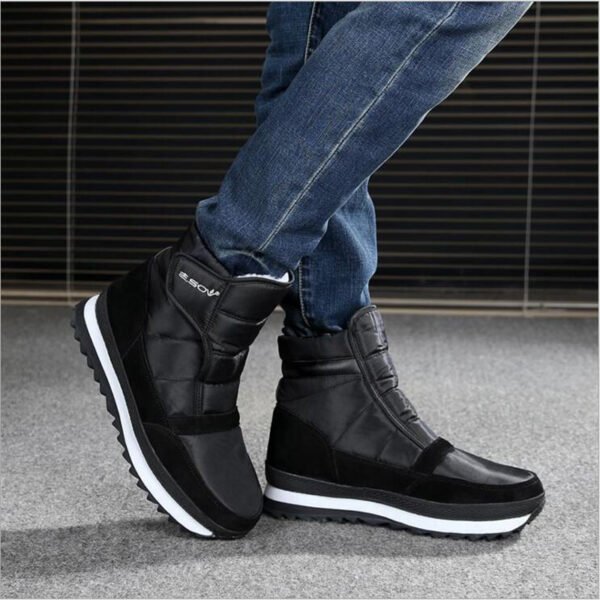 Men Boots Winter Men Snow Boots