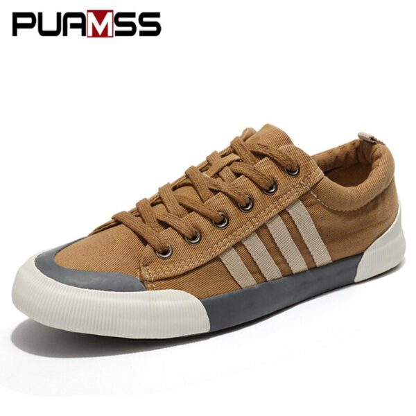 Men Casual Shoes Canvas Shoes