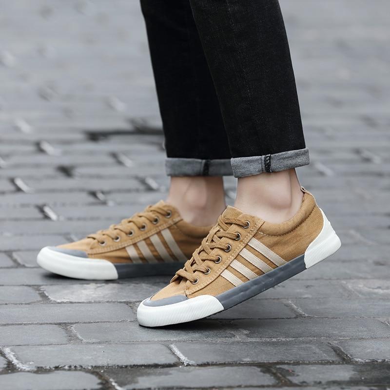 Men Casual Shoes Canvas Shoes