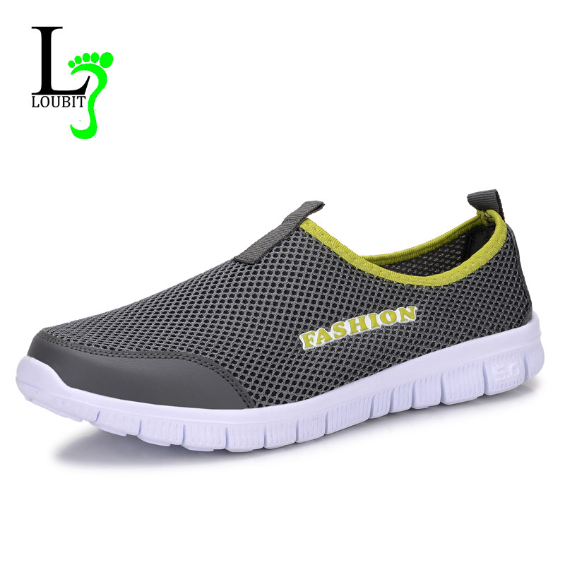 Men Casual Shoes Mesh Breathable Sneakers