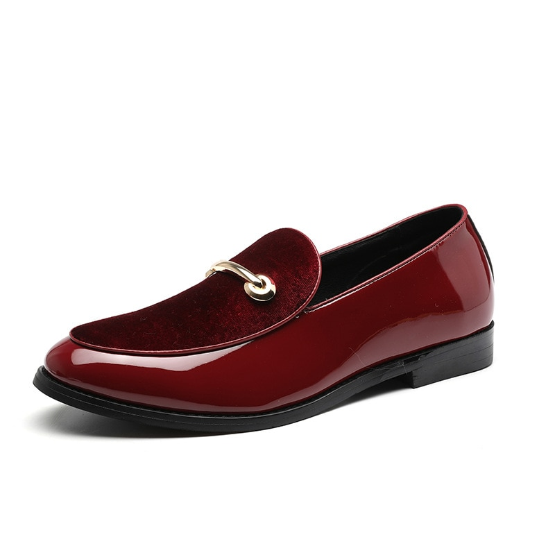 Men Loafers Leather Oxford Shoes