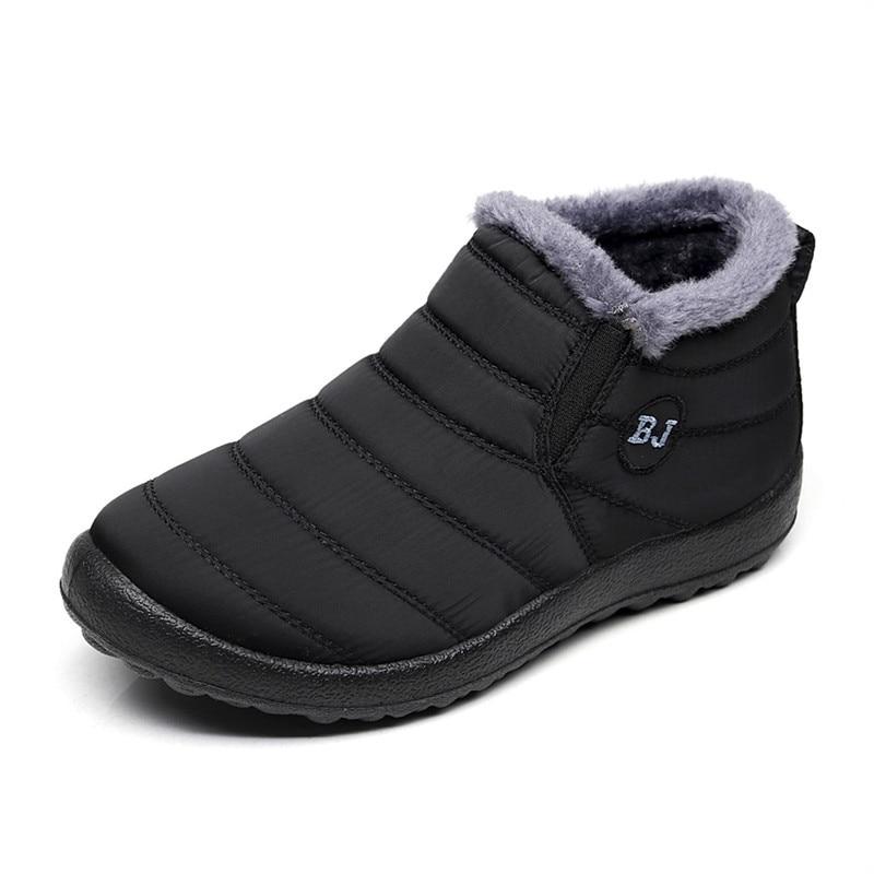 Men Winter Shoes Snow Boots