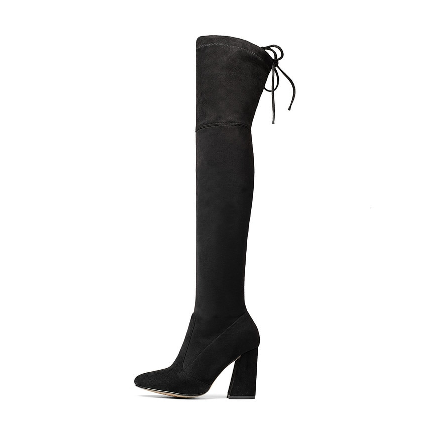 The Knee Boots Sexy High Heels