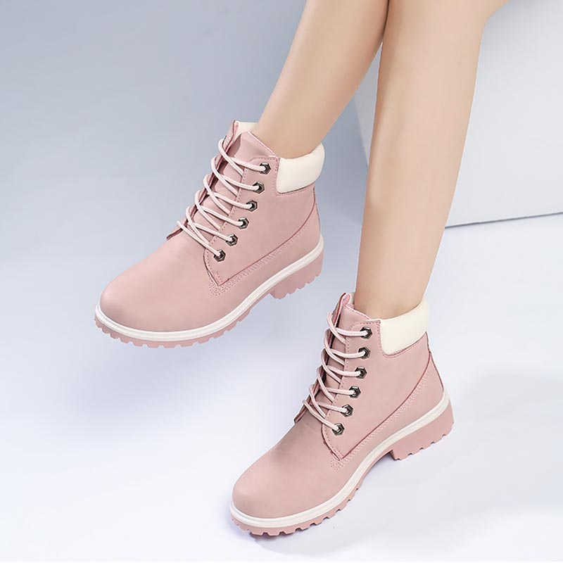 Winter Boots Fur Plush Sneakers