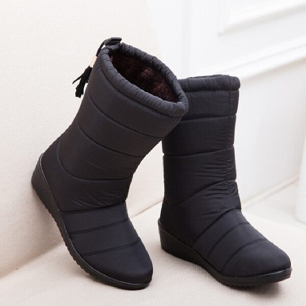 Winter Boots Waterproof Ladies Shoes