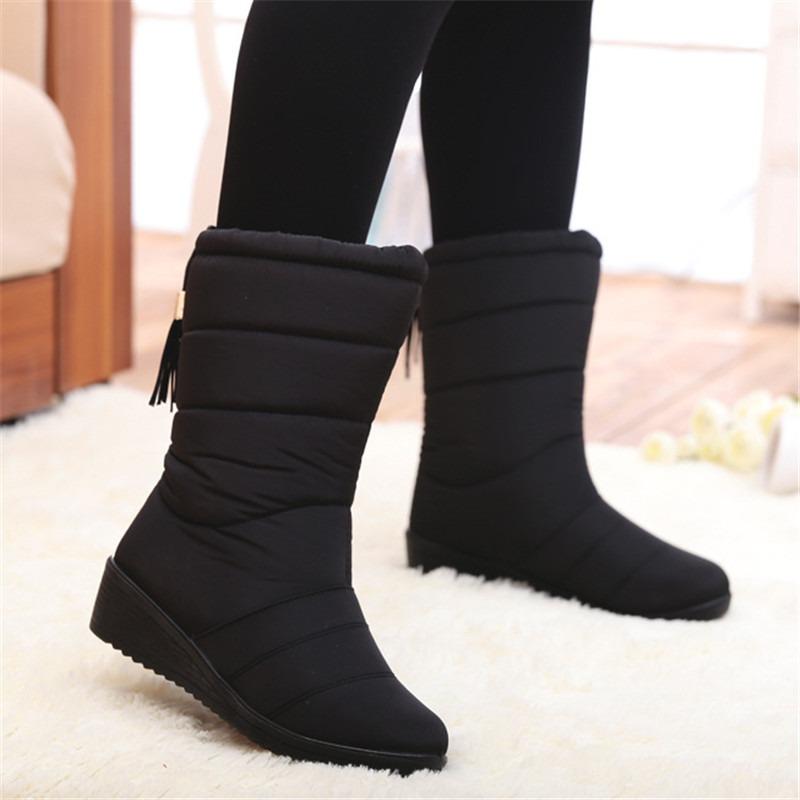 Winter Boots Waterproof Ladies Shoes