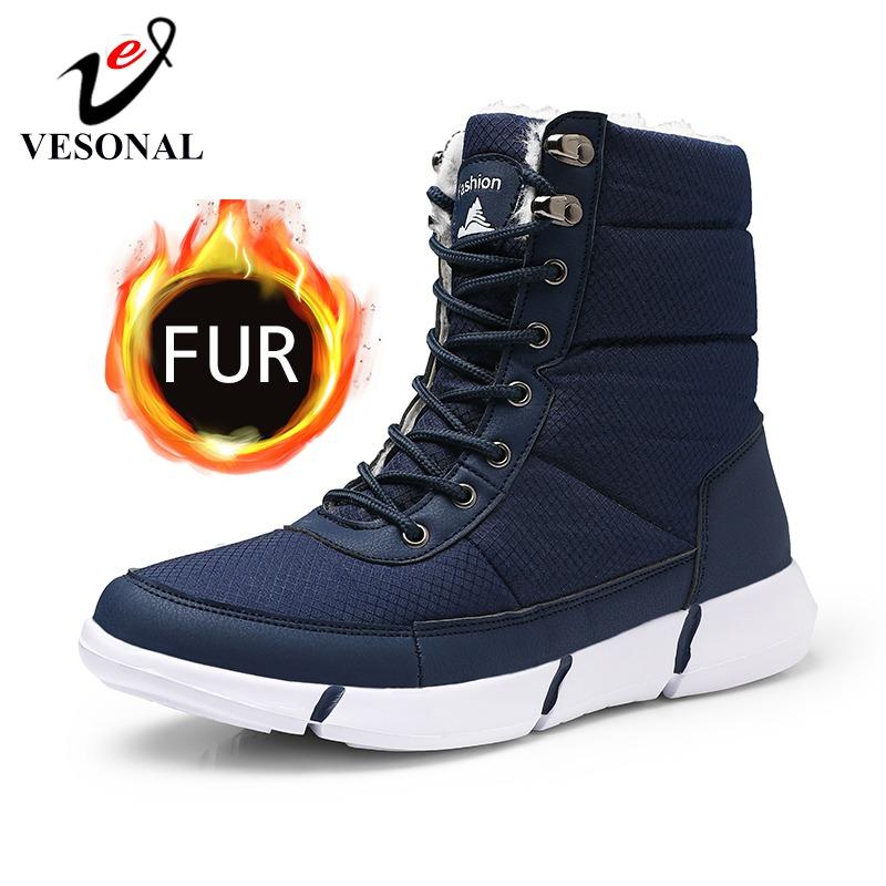 Winter Shoes Snow Men Boots