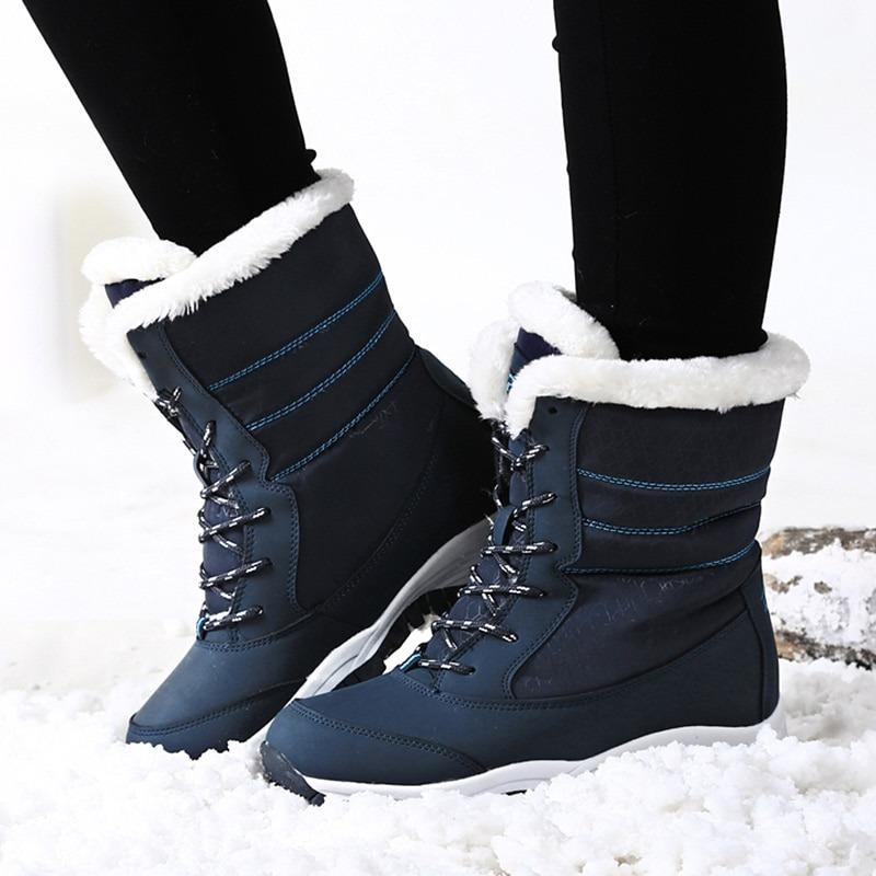 Women Boots Waterproof Winter Shoes