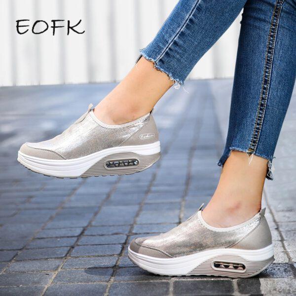 Women Flat Platform Shoes