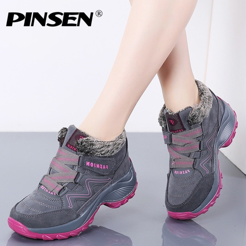Women Snow Boots Ankle Boots