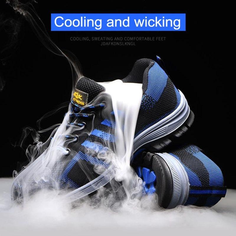 Work Boots Outdoor Steel Shoes